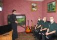 Священнослужитель провел беседу о пагубном влиянии наркотических веществ с осужденными, отбывающими наказание в Тюрьме УФСИН России по Саратовской области