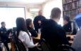 Представитель ИК-13 УФСИН России по Саратовской области принял участие в профилактическом мероприятии с подростками, нарушающими закон
