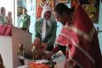 В храме ИК-5 УФСИН России по Саратовской области окрестили детей осужденных