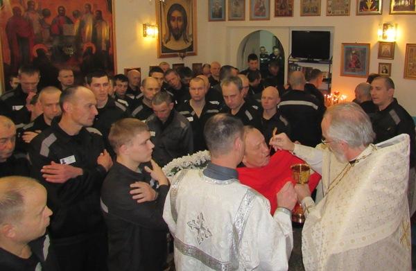 Божественная литургия в ИК-10