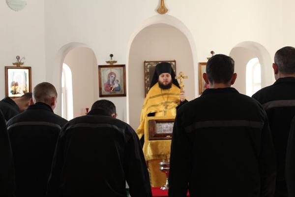Молебен в ЛИУ-3
