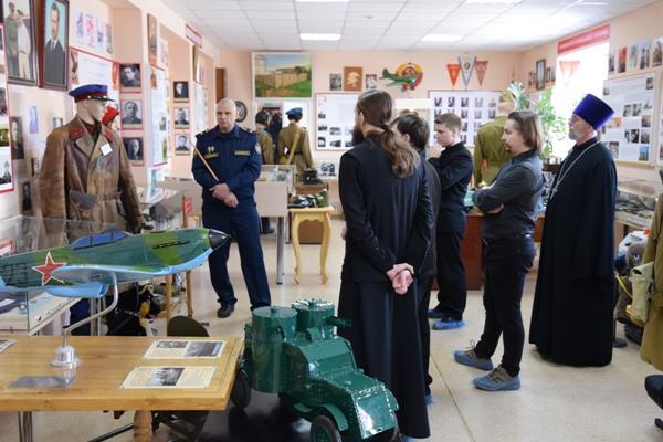 Семинаристы в музее УФСИН