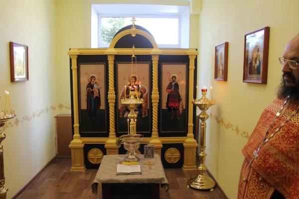 Алтарь в молельной комнате