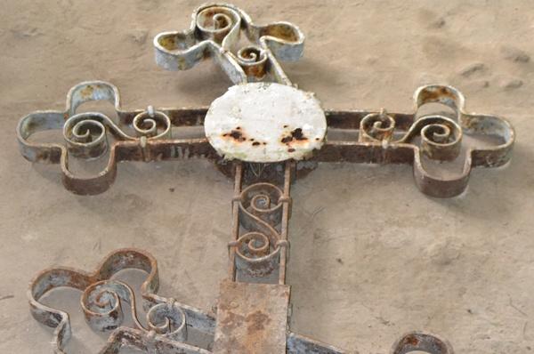 Крест до реставрации